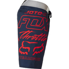 fox throttle boardshorts side view mens boardshorts navy/red 21129-329