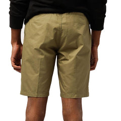 obey Straggler Light Short back view mens shorts military green