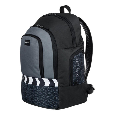 quicksilver 1969 Special side view School Backpack black/grey eqybp03424-kze6