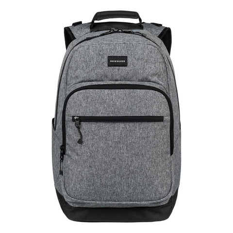 quicksilver Schoolie 2018 front view School Backpacks denim eqybpo03443-byj0