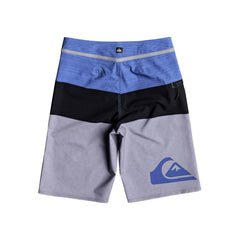 quicksilver Everday Blocked Youth back view Boys Board Shorts blue/grey eqbbs03211-bpb6