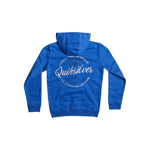 quicksilver Jumja Zip back view Hoodie Boys Hoodies blue eqbft03373-bqs0