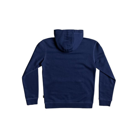 quicksilver New Port Roca back view Boys Hoodies navy eqbft03405-gqb0