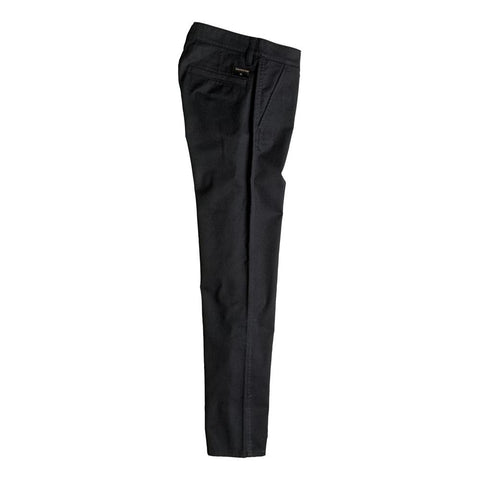 quicksilver Everyday Union Chino Pant side view Boys Jeans black eqbnp03048-kvj0