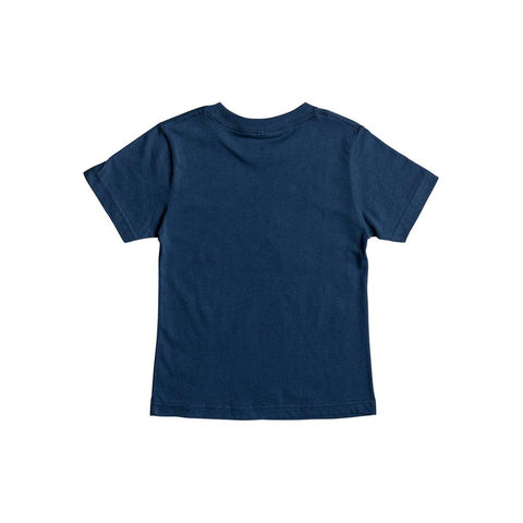 quicksilver Full & Full Boy Tee back view Boys Short Sleeve T-Shirts blue aqkzt03279-bsw0