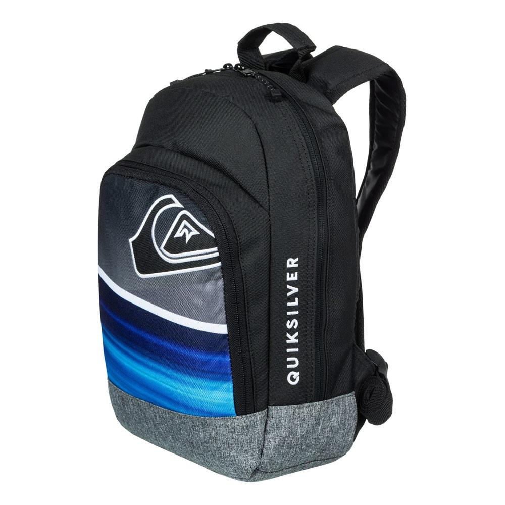 quicksilver Chompine K Backpack side view  School Backpacks black/blue eqkbp03005-bmm0