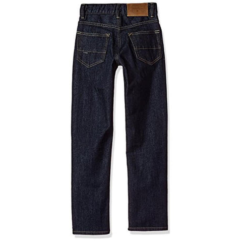 quicksilver Sequel Rinse Aw Boys 2-7 back view Boys Jeans denim eqkdp03066-bsnw