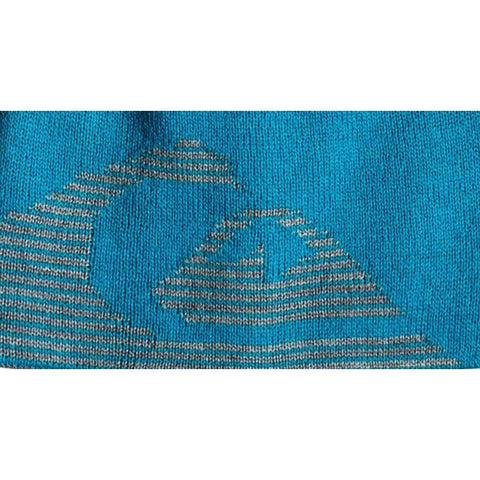 quicksilver Reversible Beanie close-up view Youth Toques grey/blue eqkha03010-bmm0