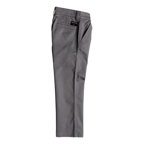 quicksilver Everyday Union Chino Pant side view Boys Jeans slate eqkn003033-kpv0