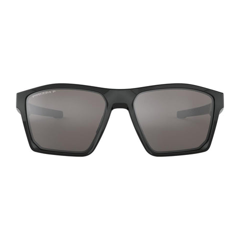 oakley Targetline Prizm Polarized front view Polarized Sunglasses black polarazid black gloss