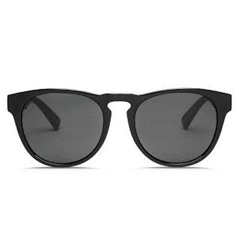 electric Nashville XL Sunglasses front view Mens Lifestyle Sunglasses grey black gloss ee17101620