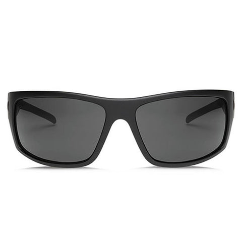 electric Tech One XL front view Mens Lifestyle Sunglasses gre black matte ee17201020