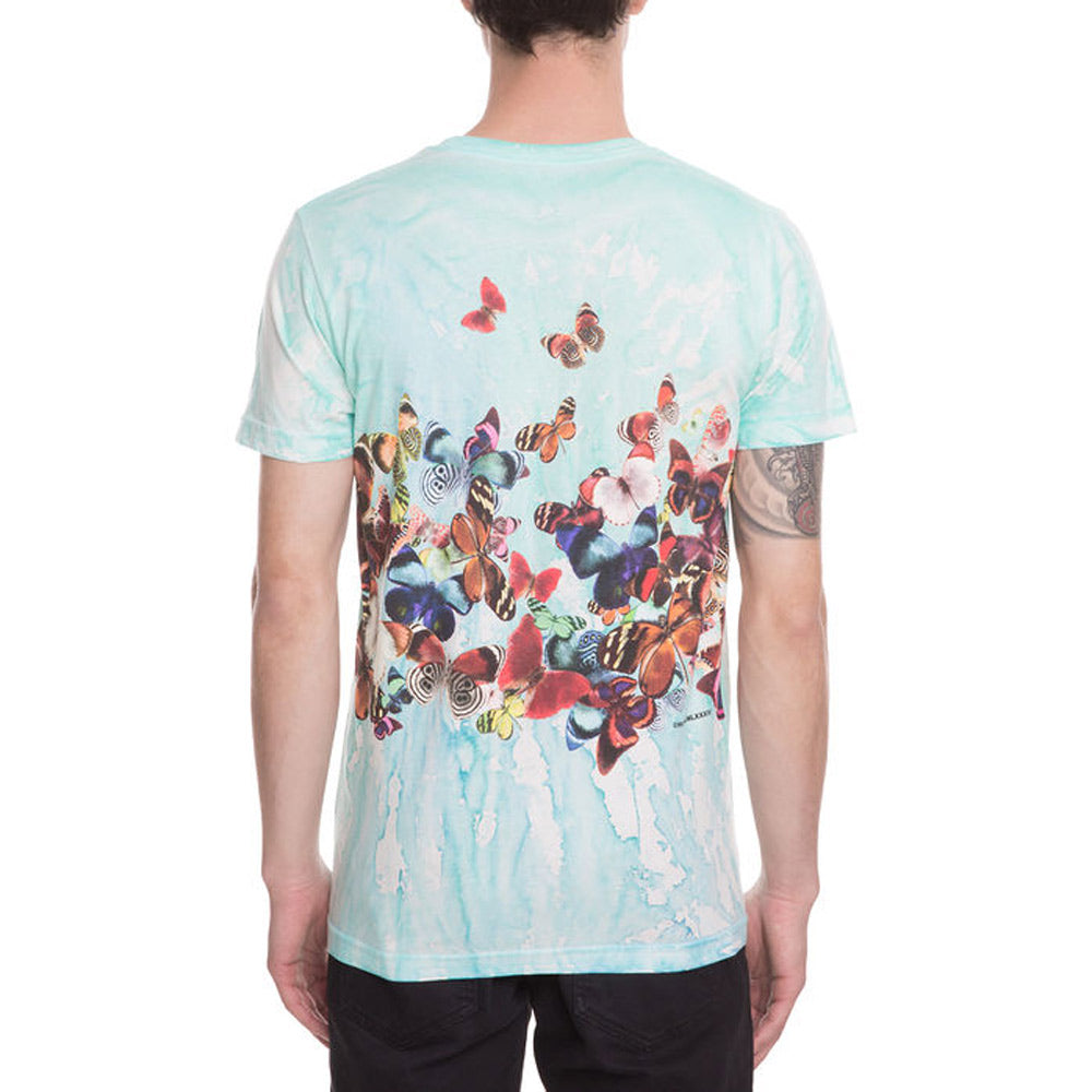 HUF BUTTERFLY EFFECT- MENS T-SHIRTS SHORT SLEEVE- T-SHIRTS- MENS