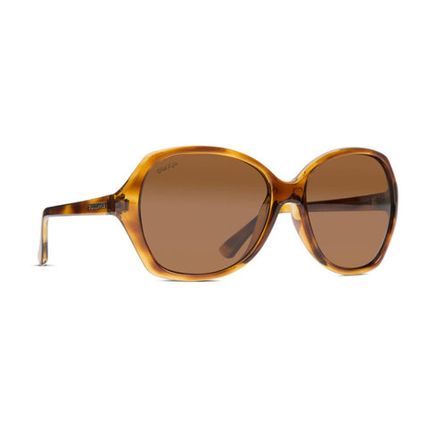 von zipper Bloom Sunglasses side view Womens Lifestyle Sunglasses bronze tortoise sjjfnblo-qld