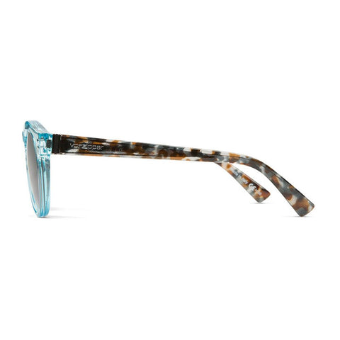 von zipper Ditty side view Womens Lifestyle Sunglasses bronze tortoise smffndit-qld