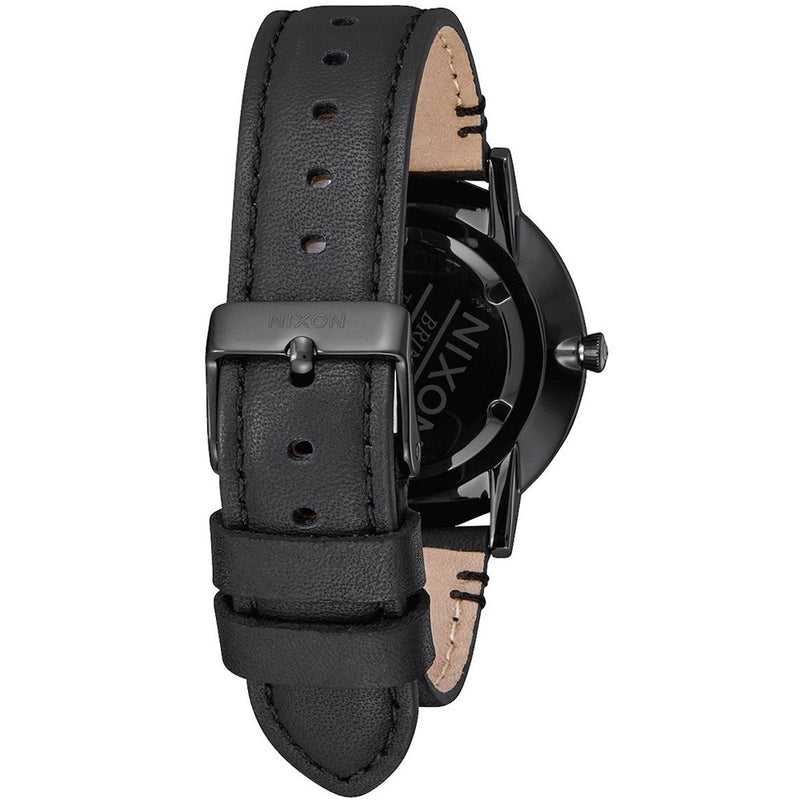 Nixon Porter Mens Leather Watch