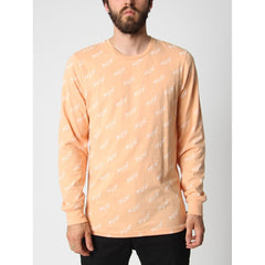 HUF BOLT ALL OVER- MENS T-SHIRTS LONG SLEEVE- T-SHIRTS- MENS