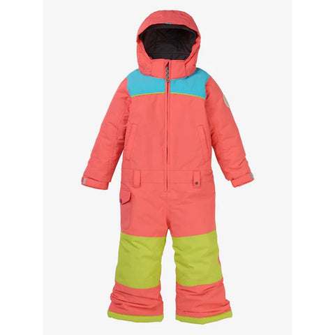 11573104650-Georgia Peach, Burton, Illusion One Piece Snowsuit, Girls Outerwear, Winter 2020