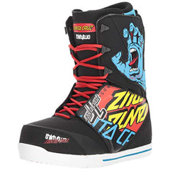 8107000051-358 32 Boots Santa Cruz Lashed Mens Boots black multi side2