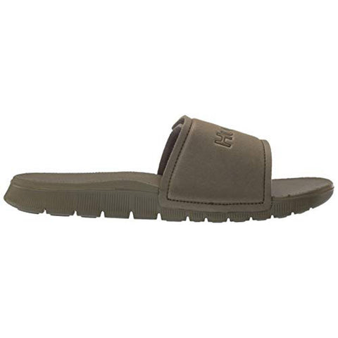 924749-395 Hurley Fusion 2.0 Mens Slip On Sandals olive canvas side