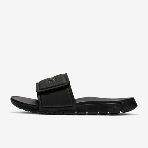 924749-010 Hurley Fusion 2.0 Mens Slip On Sandals black side1