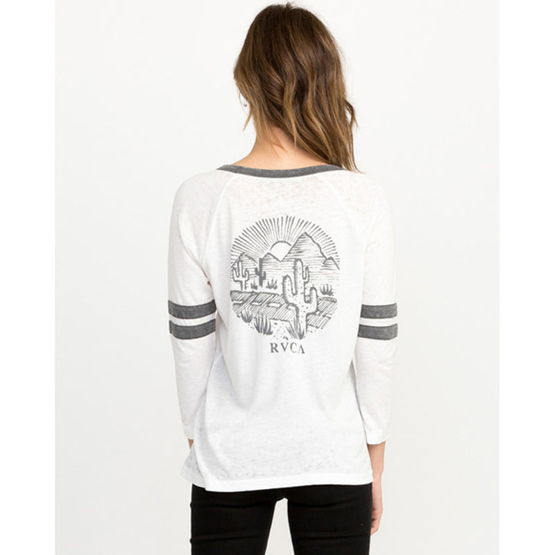 RVCA Cactus Road Womens LS Shirts