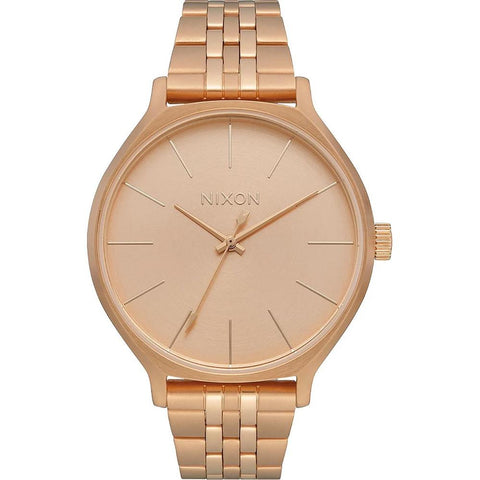 A1249-897-00, All Rose Gold, Nixon, Clique Metal Band Watch, Womens Watches, Winter 2019