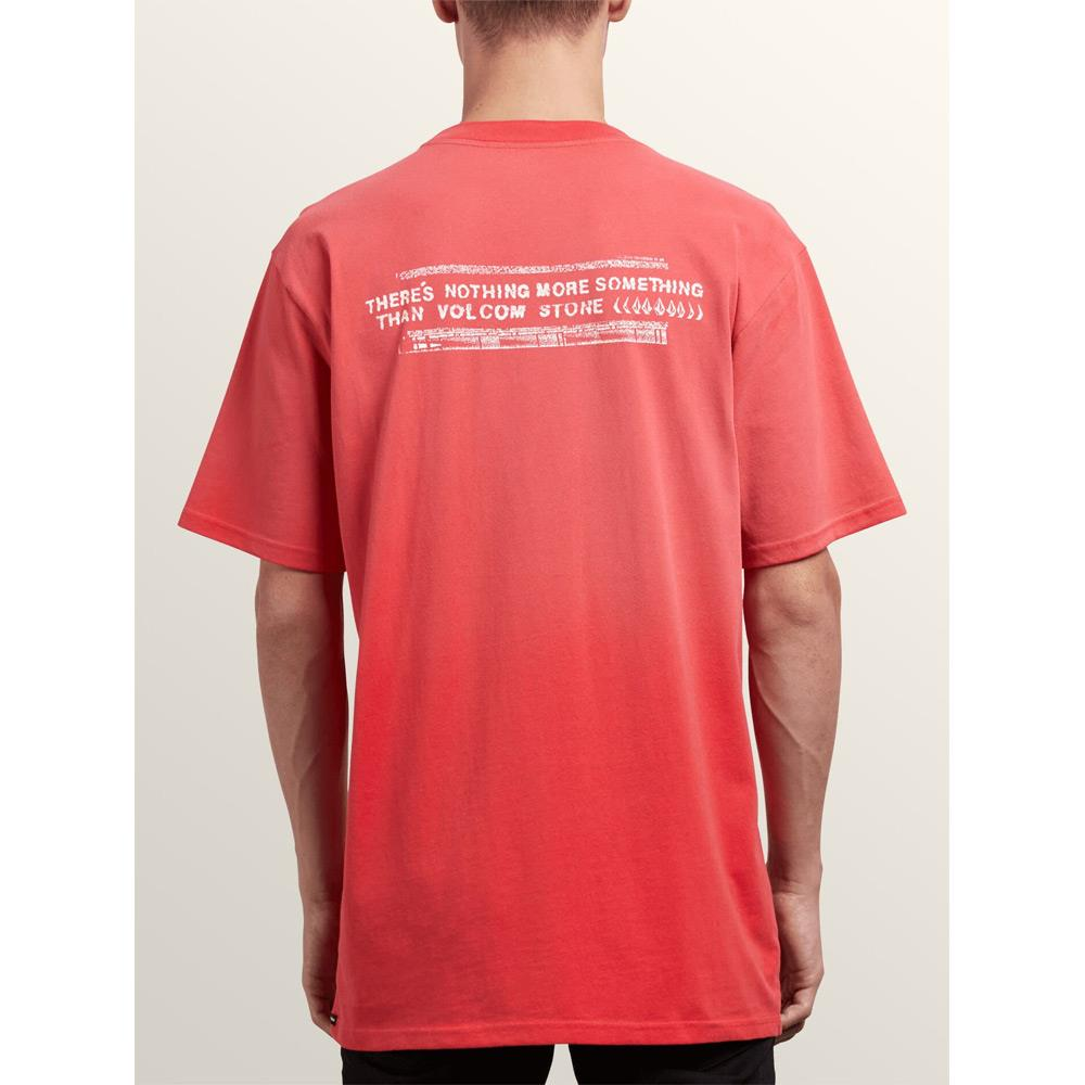 A4331800-SPK, Volcom, Red, Stone Cycle Tee