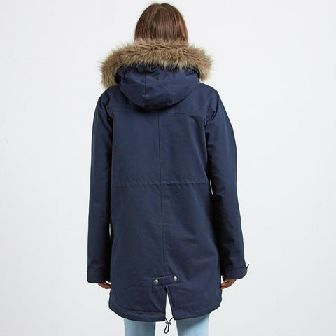 b1531851-snv volcom less is more parka navy