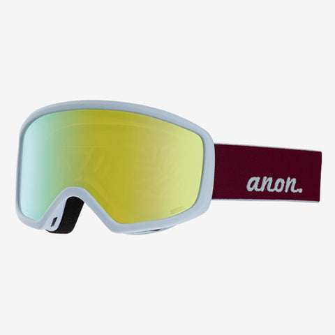 185451-01128 anon deringer mfi womens goggle pink mirror white
