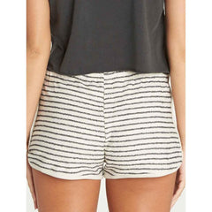 j208pbbe-cwp billabong beach daze womens fabric shorts white stripe