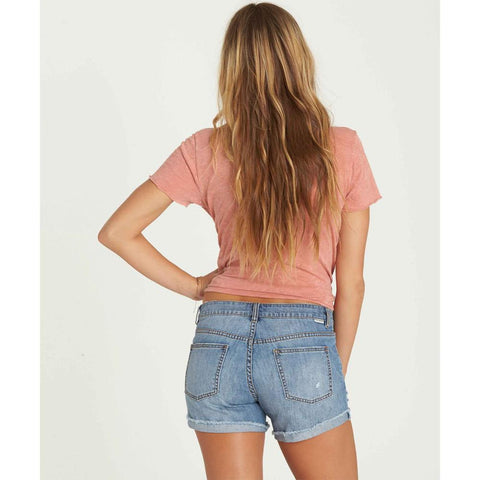 j209lcoa-wwh billabong coast ryder short womens jean shorts denim