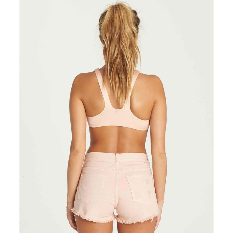 j218nbdr-pec billabong drift away womens jean shorts peach