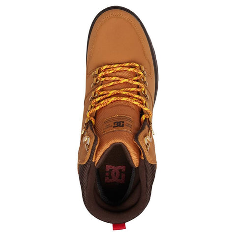 adyb700022-wd4 dc peary boots mens high tops wheat