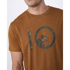 Ten Tree Stamp Ten Tree Mens T-Shirts Short Sleeve