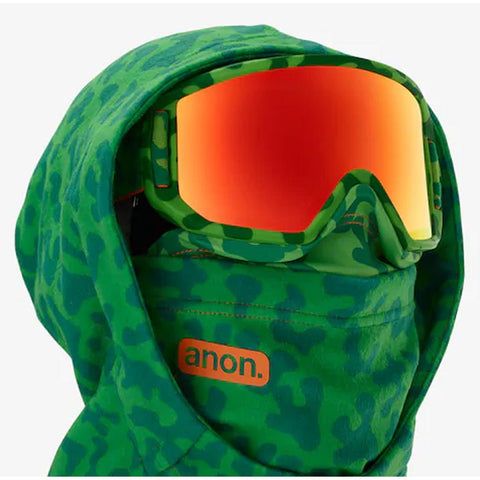 19181101304 anon yth mfi helmet hood facemasks green