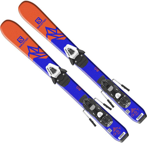 l4050770015 salomon set h qst max jr xs+h c5 s top view youth boys package blue/orange