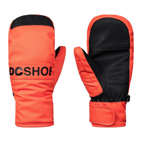 edbhn030-nmn0 dc franchise yth mitt overall view youth mitts orange