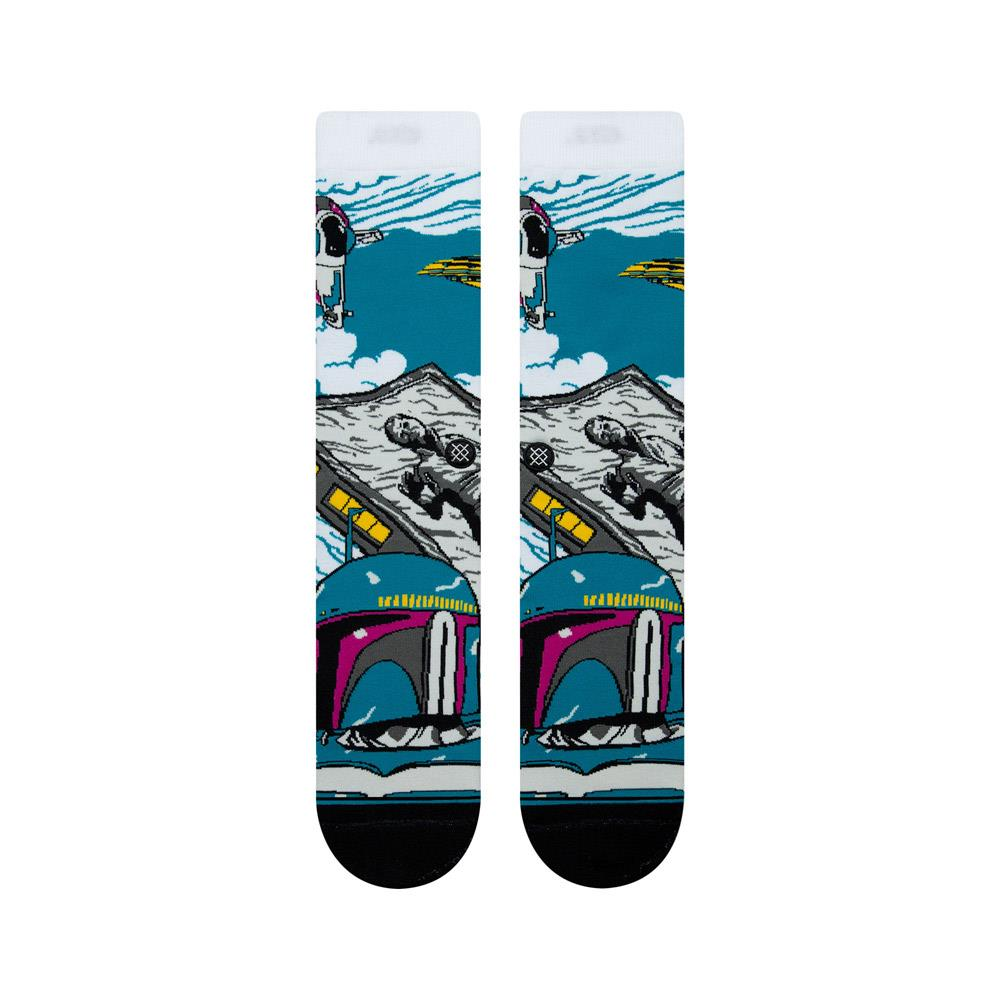 m545d18wab.wht stance wrapped bobba top view mens socks white/blue