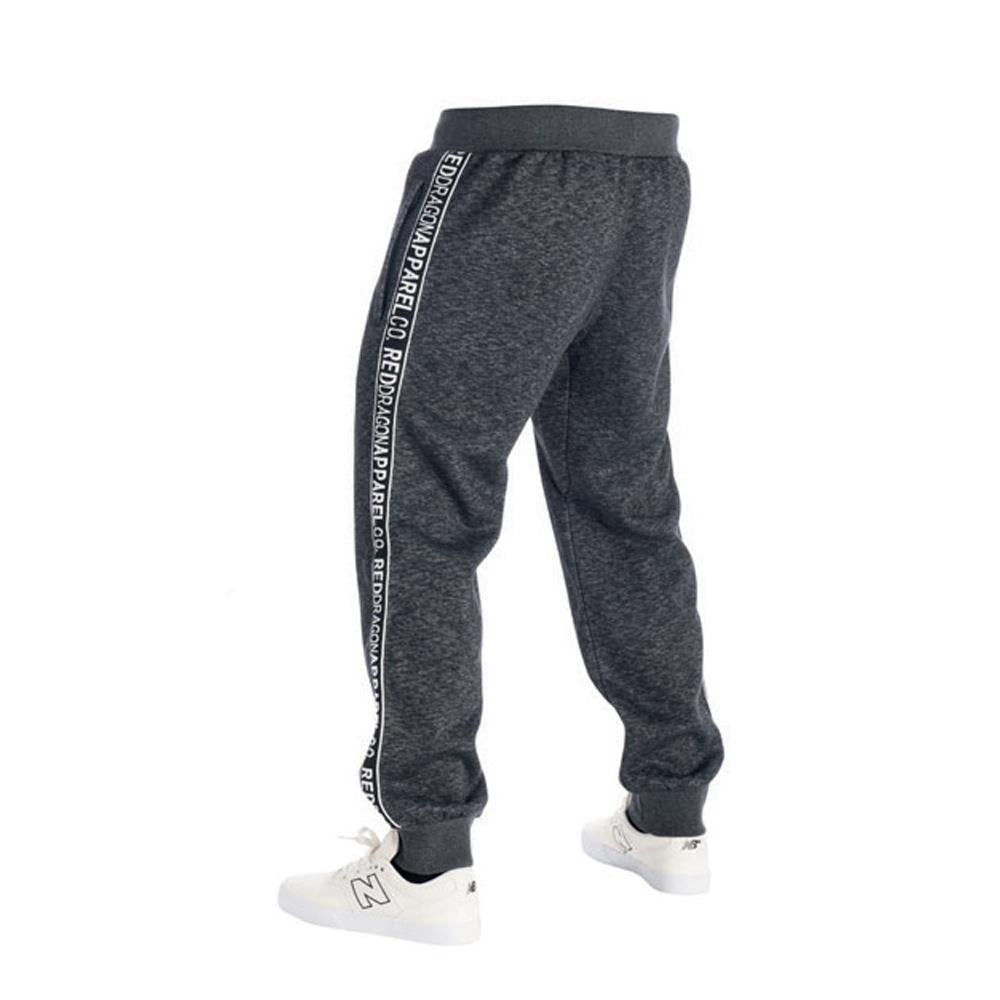 rd8160-dhgb rds sweatpant sweeper back view mens sweat pants dark heather