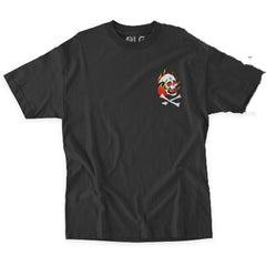 rds traditional tee front view mens t-shirts short sleeve black