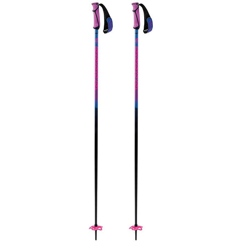 k2 freeride 16 both poles neon pink