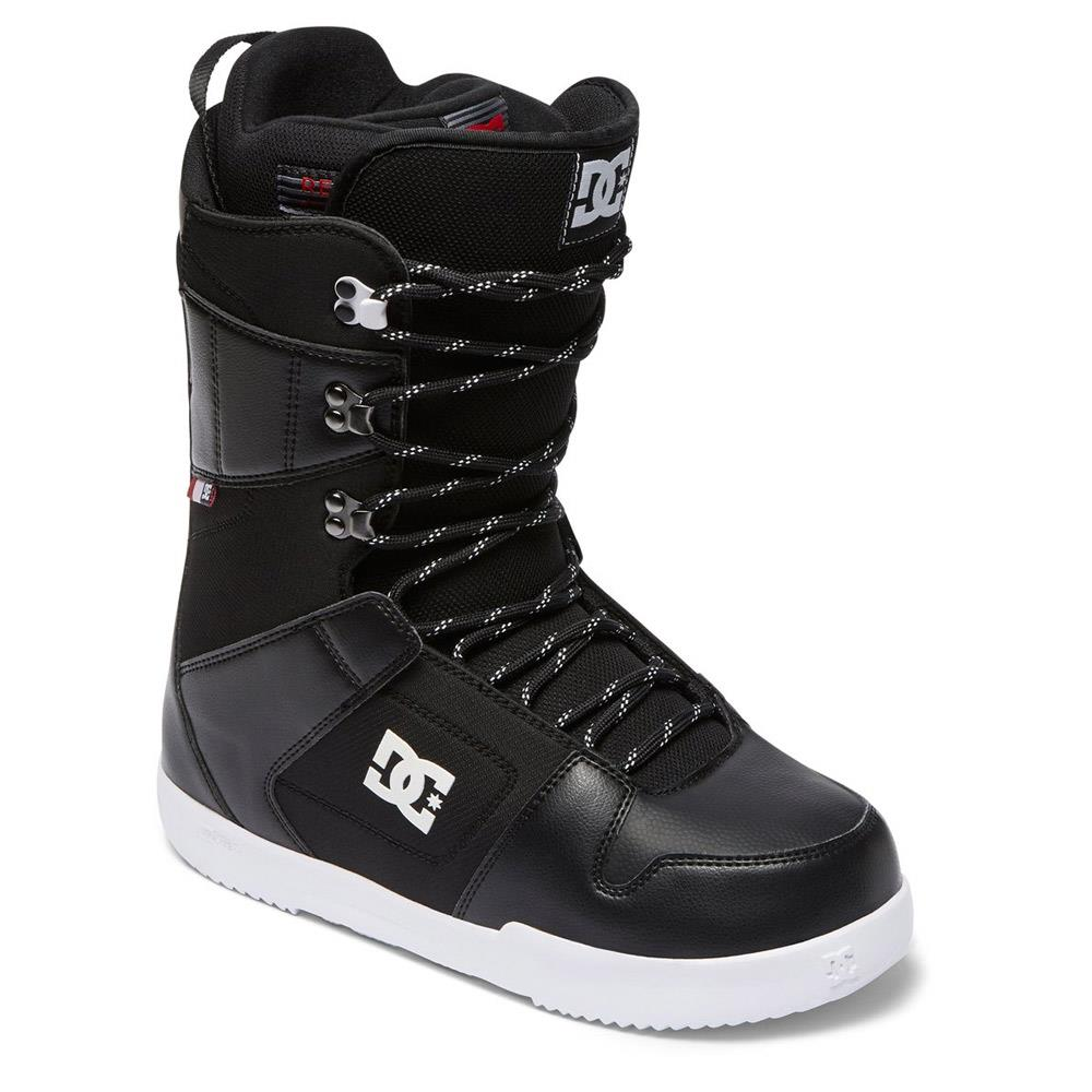 dc phase side view Mens Lace Snowbaord Boots black