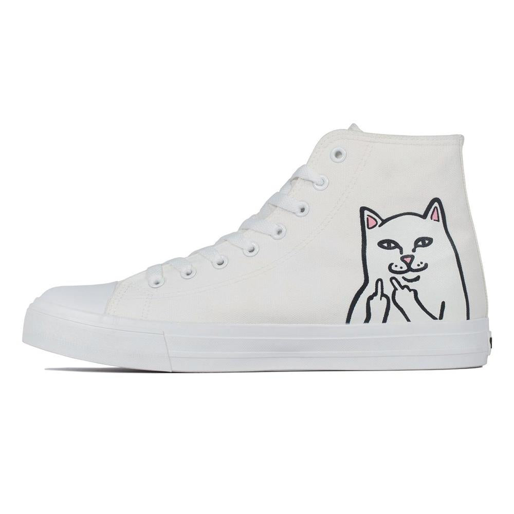 ripndip nerm high tops side view Mens High Tops white