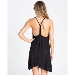 billabong twisted view 2 back view Sun Dresses black