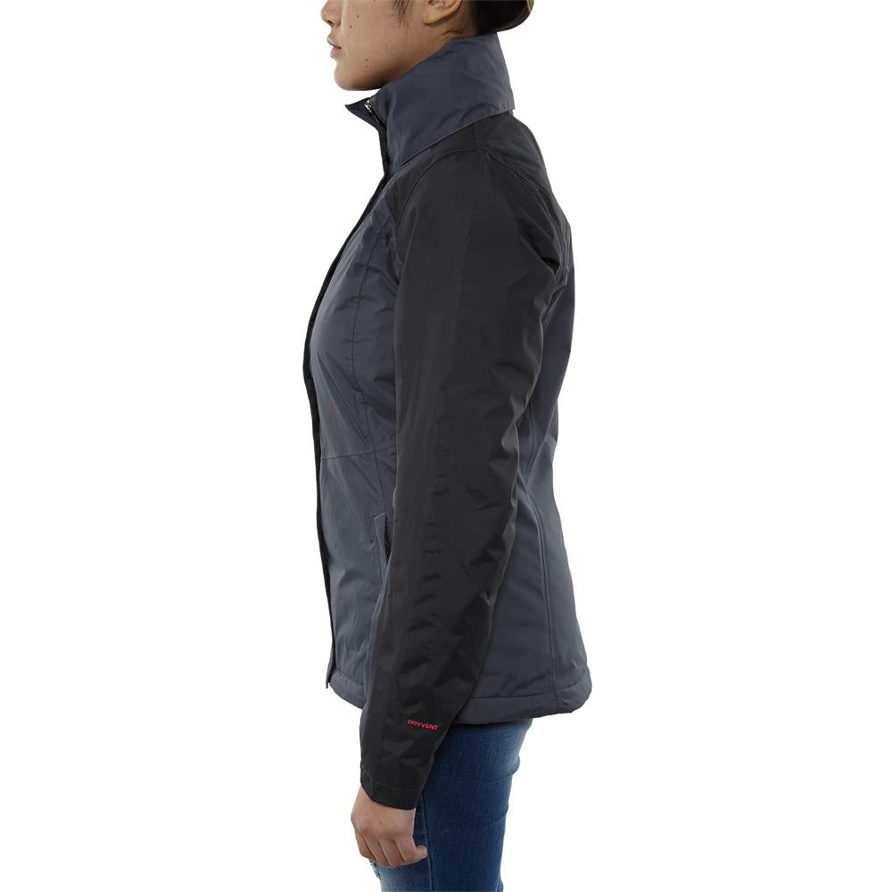 the north face resolve insulated jacket side view Womens Isulated Jackets grey/black