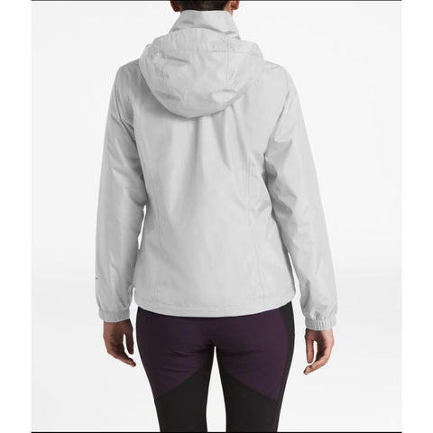 the north face resolve 2 jacket back view Womens Shell Jackets light grey