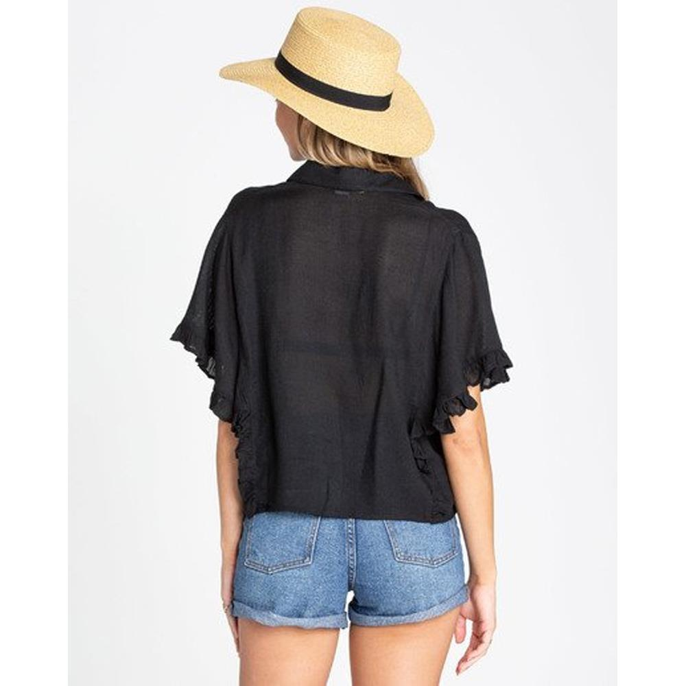 billabong find me back view Womens Fashion Tops black