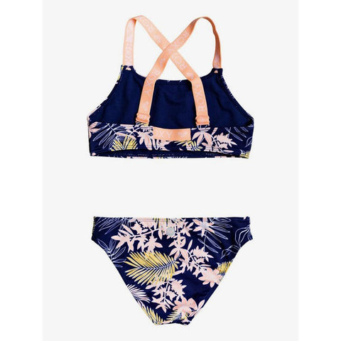 Roxy Girls Point Crop Top Bikini Set
