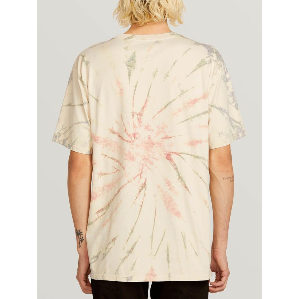 VOLCOM TIE DYE SOLID SS BACK VIEW MENS PREMIUM T-SHIRTS MULTI